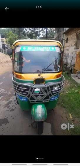 Bajaj RE Compact Auto Rickshaw 2013 model  Permit  - Garia to Baruipur
