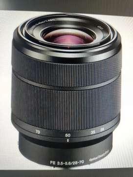 Selling FE 3.5-5.6  28 70 kit lens of sony A7III