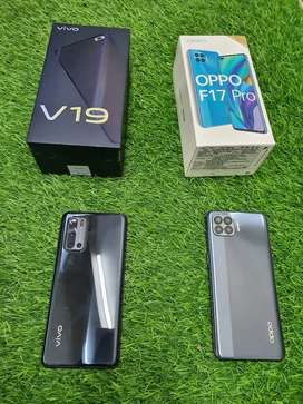 Oppo F17 pro  only 3 months , vivo v19 only 9 months used