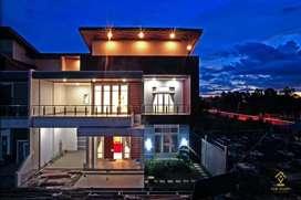 Rumah mewah Smart Home pertama di pusat kota pontianak