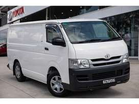 Get New Hiace (2018) just on 20% Down payment..!