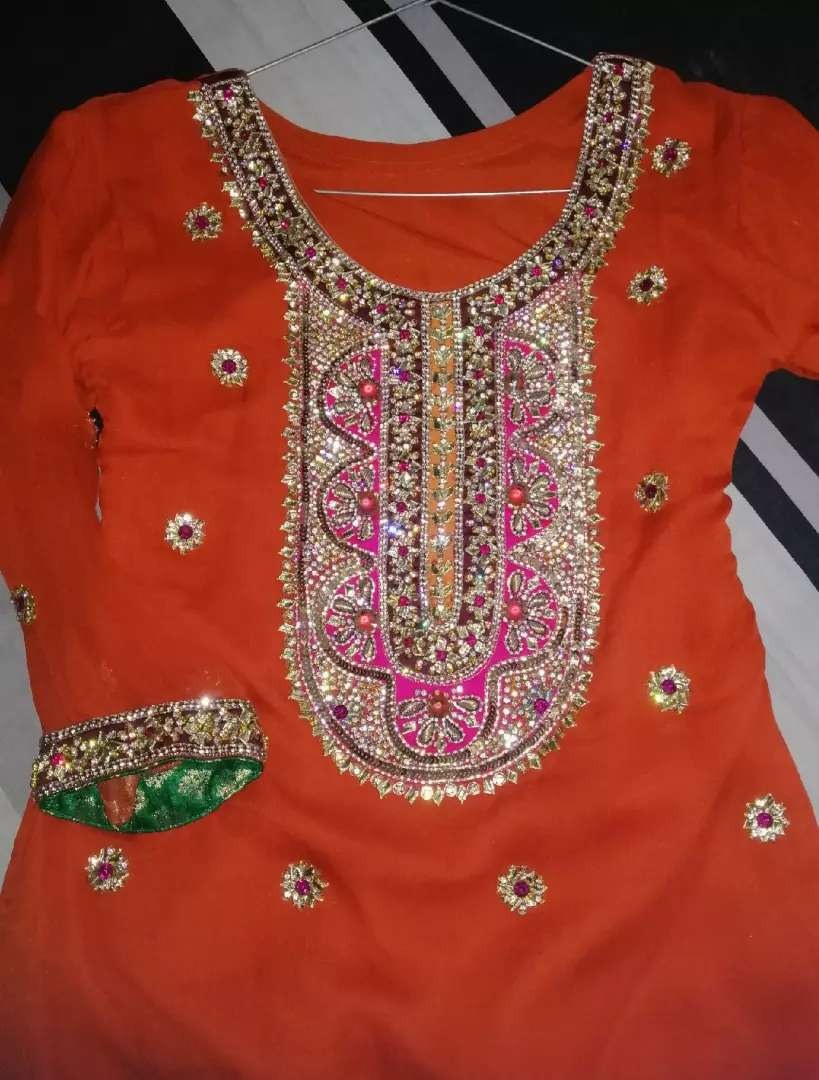 Bridal mehendi dress 0