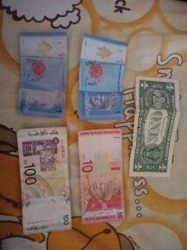 Mata uang malaysia dan dollar