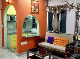2bhk Furnished flat rent in Parnasree