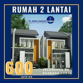 Dijual rumah dekat bandara Soekarno Hatta