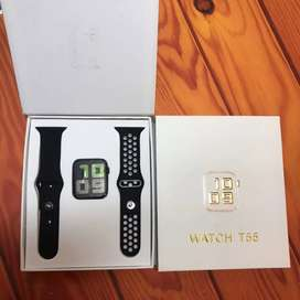 Smart watch model no.T55 magnetic charger dual belts