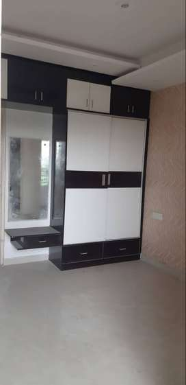 3 BHK Semi furnished flat for rent on Patiala road, Zirakpur