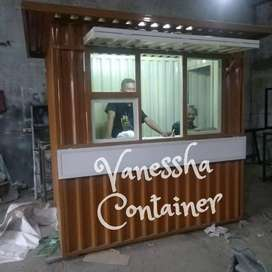 BOOTH SEMI CONTAINER / CONTAINER USAHA / CONTAINER KEDAI / BOOTH USAHA