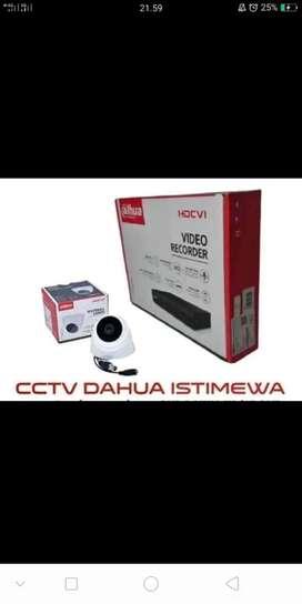 Paket cctv via online 2mp free pasang