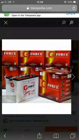 Aki basah G force N50Z