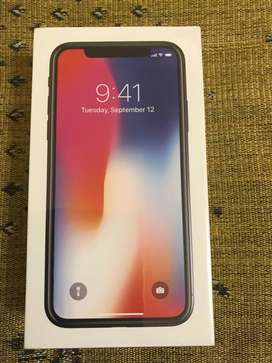 Apple iPhone X 256 GB Space gray (Factory Unlocked) Brand New Sealed
