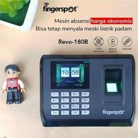 Fingerspot Revo-180B Absen Fingerprint ada Baterai Backup