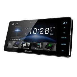 KENWOOD DDX 918 WS/918 BT Head Unit Double din Tape Audio Mobil