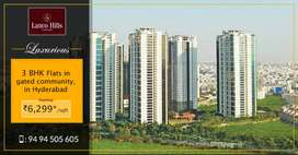 Luxury & HMDA Approved Flat at Manikonda Hyderabad.