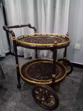 Chinioti Tea trolley almost new