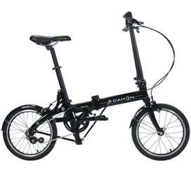 Sepeda lipat dahon jifo uno