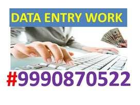 Data entry & formatting work part time home based job 4K TO 8K/WEEK