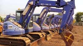 Jual beli alat berat excavator loader dozer forklift komatsu bobcat
