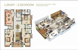 Galleria Mall 3 Bed Diamond Category Super Luxury Appartment
