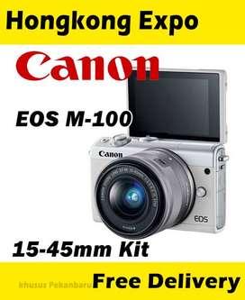camera mirrorless canon m-100