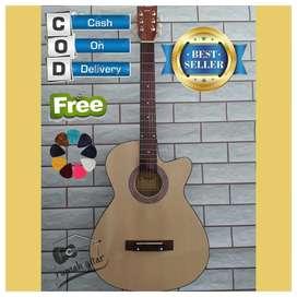 Akustik gitar yamaha bayar stlh barang datang