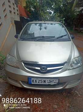 Honda City ZX 2007 Petrol  topend model Well Maintained Dr used car