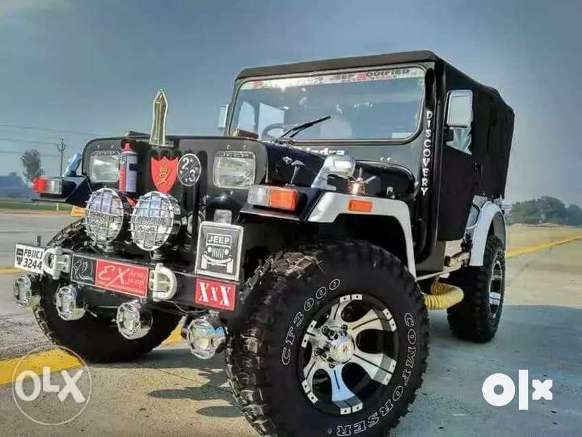 Panwar modified open jeep 0