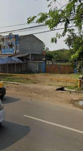 Dijual lahan luas pinggir jalan raya cikupa