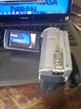 Handycam sony DCR SR68 2000x digital zoom