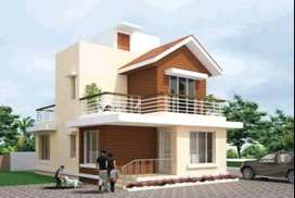 ON 23 LAKHS BUNGALOW + PLOT WITH SEMI - FURNISHED ( ALL INCLUSIVE ).