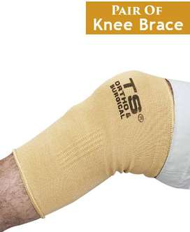 Pair of Knee Brace Support - Hot Pain Relief.