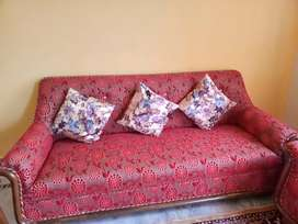 Five seater sofa set new condition