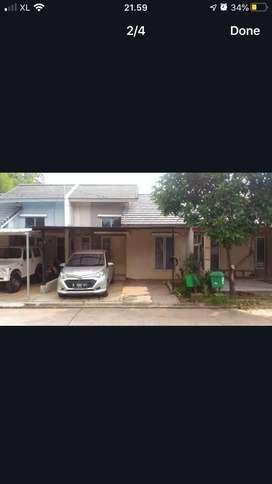 Murah Disewakan rumah di Serpong Garden Green River Hadap Taman