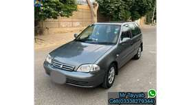 Suzuki Cultus(2008)Get on easy installment