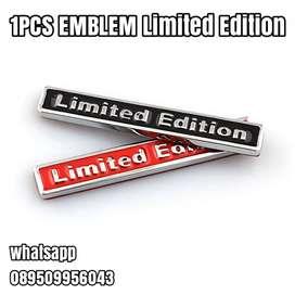 1PCS EMBLEM Limited Edition