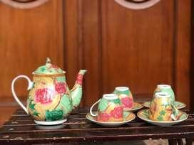 Teko keramik bisa untuk teh dan kopi