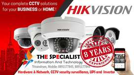 CCTV Security Surveillance 8 years experience