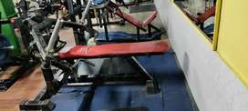 Gym equipment in good condition