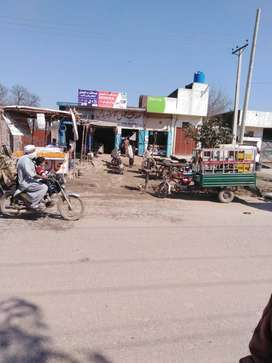 commercial shops and plots for sale on main pasrur road sialkot