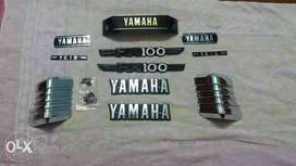 Yamaha rx100 & Rx  emblem full kit new