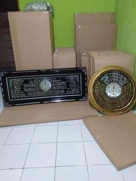 Jual,kami menjual kaligrafi hiasan dinding ,dari kuningan dan prada,