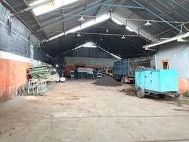 Dikontrakkan gudang+kantor di jln Kaliurang