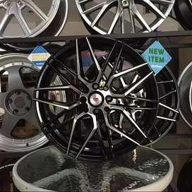 AMW wheels VELG buat YARIS R17X7.5 PCD 8X100/114.3 OFFSET 40
