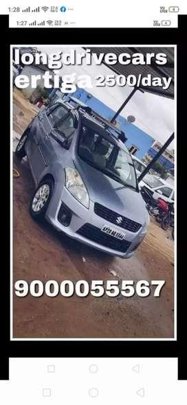 2500/day Ertiga self drive cars