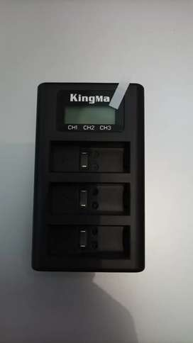 Charger go pro LCD kingma