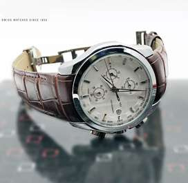 Branded leather strap watches CASH ON DELIVERY price negotiable hurry.