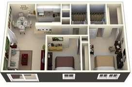 2 bedrooms apasment for rent