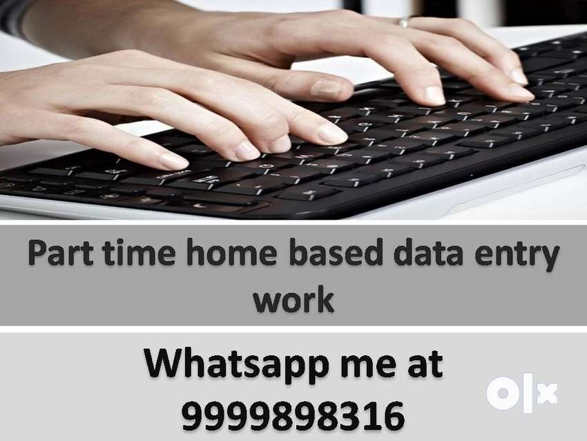 Home Based work Typing Work Data entry JOB part time job typing work 0