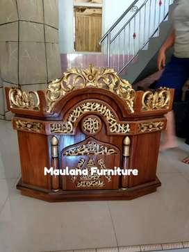 Mimbar podium masjid furniture MPB