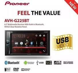 Pioneer AVH G225BT [ DF Car Audio]